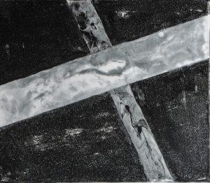 M-2020-16 ResinArt auf Leinwamd; 25x30cm
